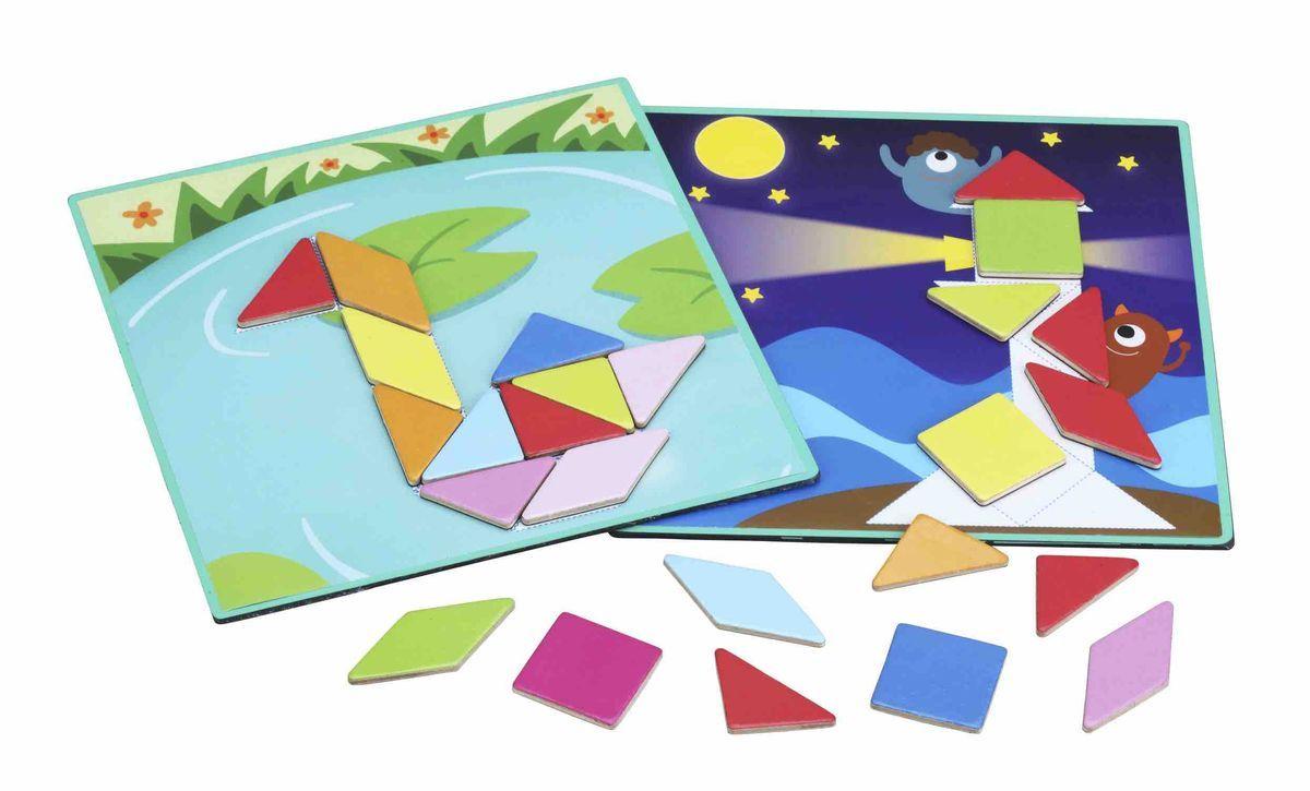 Classic World Развивающая магнитная игра Оптические иллюзии3536Удивительная игра откроет перед ребёнком чудесный и загадочный мир оптического волшебства. Разнообразная и захватывающая игра, с 3 уровнями сложности. 1 уровень. Используй карточки-задания и собери на магнитном поле удивительны объекты - животных, дома и многое другое. 2 уровень. Собирай пазл по карточке-заданию. Функции этой игрушки позволят вам отлично развить у ребенка пространственное мышление. А это значит, что в механике и геометрии ему не будет равных. Собирайте занимательные магнитные пазлы по игровым картам, идущим в комплекте и в простой и занятной игровой форме изучайте форму, цвет, размер и длину. Игра способствует развитию логического мышления, внимательности и сообразительности. Игрушка выполнена из высококачественных материалов, а значит вы будете уверены в безопасности вашего ребёнка.
