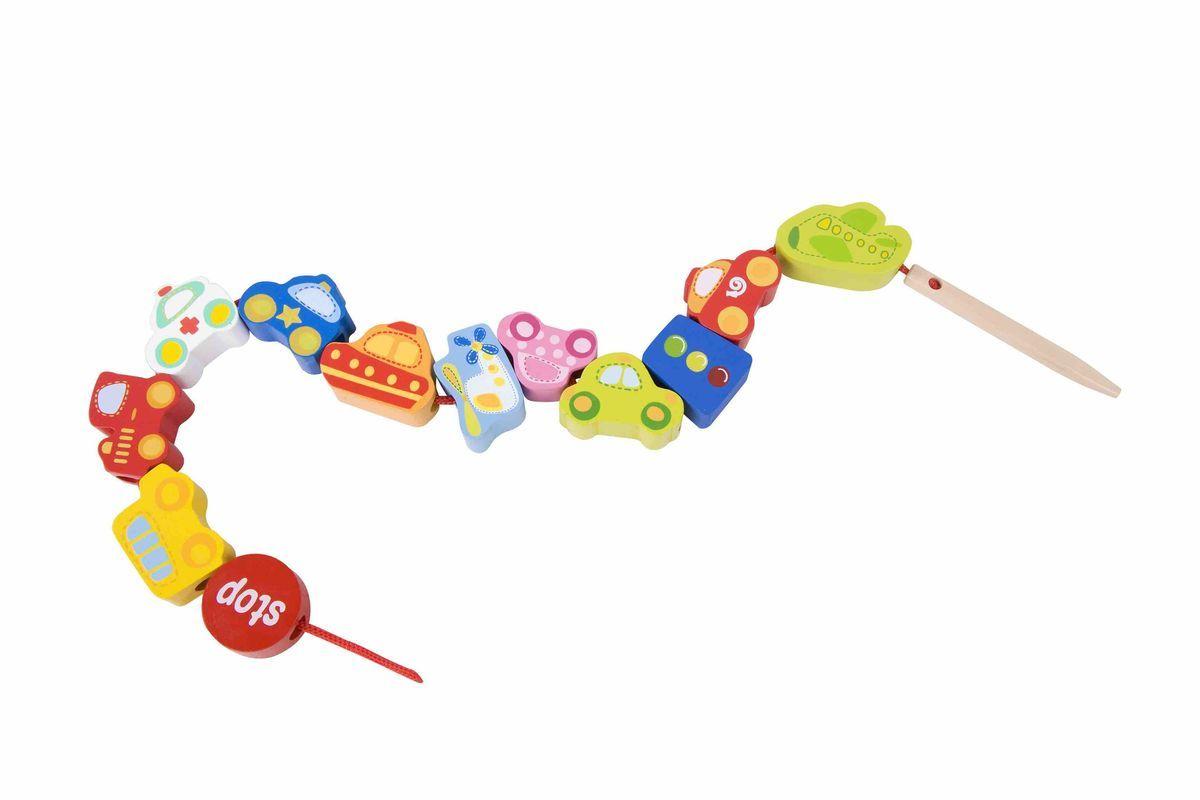 Classic World Развивающая игра-шнуровка Любимый транспорт3635Город полон машин! Удивительная игра-шнуровка поможет познакомить малыша с разнообразными автомобилями и их назначением, а также основными дорожными указателями - стоп и светофором. Ребёнок сможет придумать свои первые истории о городском транспорте, что прекрасно способствует развитию творческого мышления. Благодаря тому, что на шнуровку можно нанизывать предметы в разном порядке, вы сможете составлять с ребенком интересные истории и нанизывать детали согласно этапам развития сказки. Игра-шнуровка поможет развить мелкую моторику, глазомер, усидчивость. Игра способствует улучшению координации движений, гибкости кисти, что является залогом отсутствия проблем с письмом в школе. Как любое упражнение на развитие мелкой моторики, игрушка активизирует речь. Игрушка выполнена из высококачественных материалов, а значит вы будете уверены в безопасности Вашего ребёнка.
