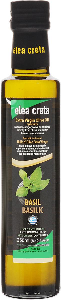 Elea Creta масло оливковое Extra Virgin с базиликом, 250 мл