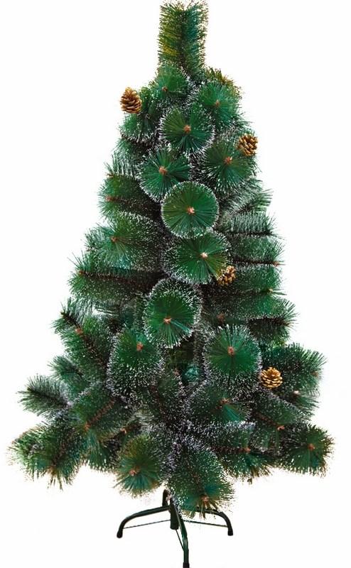 Ель искусственная Neon-Night Новогодняя, с шишками и снегом, 90 веток, 120 см533-312Даже одно только простое слово «елка» сразу поднимает настроение, вызывает яркие ассоциации с весельем, встречей друзей, чудесами. Наша компания работает на то, чтобы ни один россиянин в сказочные новогодние дни не остался без праздника ни дома, ни на улице. Главным символом Нового года уже несколько столетий является наряженное и заботливо украшенное дерево с коротким, но так много значащим названием: елка. Без елки ощущение праздника будет не полным. Но уничтожение живых деревьев ради нескольких дней веселья уже почти осталось в прошлом. Да и найти красивое, ровное, пушистое дерево – большая проблема. Гораздо лучше, надежнее и современнее поручить роль хозяйки праздника искусственной ели. Она, в отличие от натуральной, всегда в форме: стройная, густая, привлекательная. А после праздников ее не нужно выбрасывать – достаточно просто положить в укромное местечко, где она отдохнет до следующих чудесных дней, и через год снова собрать. И уже не придется опять тратиться на украшение...