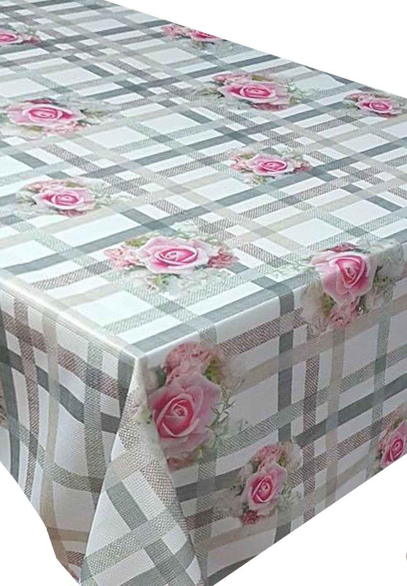 Скатерть Ambesonne Розы на клетчатом фоне, прямоугольная, 150 x 220 смBD1862-1_AКрасочная фотоскатерть Ambesonne Розы на клетчатом фоне выполнена из тканевого полиэстера и украшена оригинальным рисунком. Изделие создаст атмосферу уюта и домашнего тепла в интерьере вашей кухни. В современном мире кухня - это не просто помещение для приготовления и приема пищи. Это особое место, где собирается вся семья и царит душевная атмосфера.