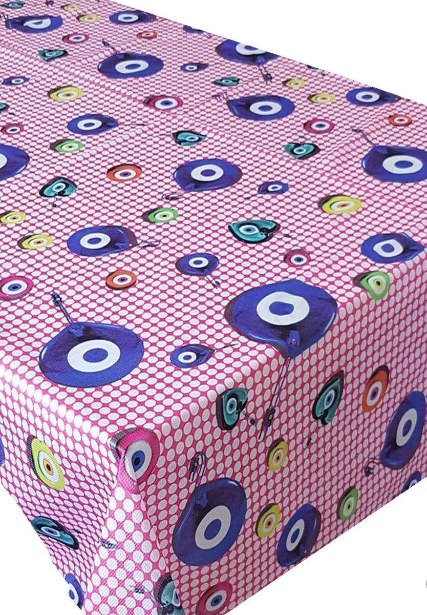 Скатерть Ambesonne Амулеты на розовом фоне, прямоугольная, 150 x 220 смBM1509NAZARFUSYA_AВеликолепная скатерть Ambesonne, выполненная из полиэстера, создаст атмосферу уюта и домашнего тепла в интерьере вашей кухни. В современном мире кухня - это не просто помещение для приготовления и приема пищи. Это особое место, где собирается вся семья и царит душевная атмосфера.