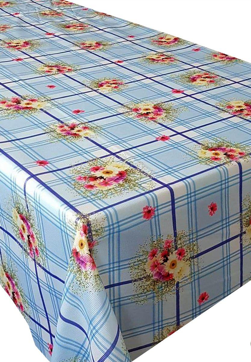 Скатерть Ambesonne Цветы на голубом фоне, прямоугольная, 150 x 220 смBM1527BETTYMAVI_AКрасочная фотоскатерть Ambesonne Цветы на голубом фоне выполнена из тканевого полиэстера и украшена оригинальным рисунком. Изделие создаст атмосферу уюта и домашнего тепла в интерьере вашей кухни. В современном мире кухня - это не просто помещение для приготовления и приема пищи. Это особое место, где собирается вся семья и царит душевная атмосфера.