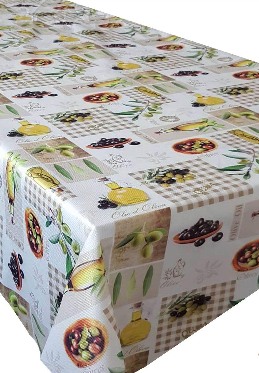 Скатерть Ambesonne Свежие оливки, прямоугольная, 110 x 150 смBM1534-OLIVEKAHVE_AКрасочная фотоскатерть Ambesonne Свежие оливки выполнена из тканевого полиэстера и украшена оригинальным рисунком. Изделие создаст атмосферу уюта и домашнего тепла в интерьере вашей кухни. В современном мире кухня - это не просто помещение для приготовления и приема пищи. Это особое место, где собирается вся семья и царит душевная атмосфера.