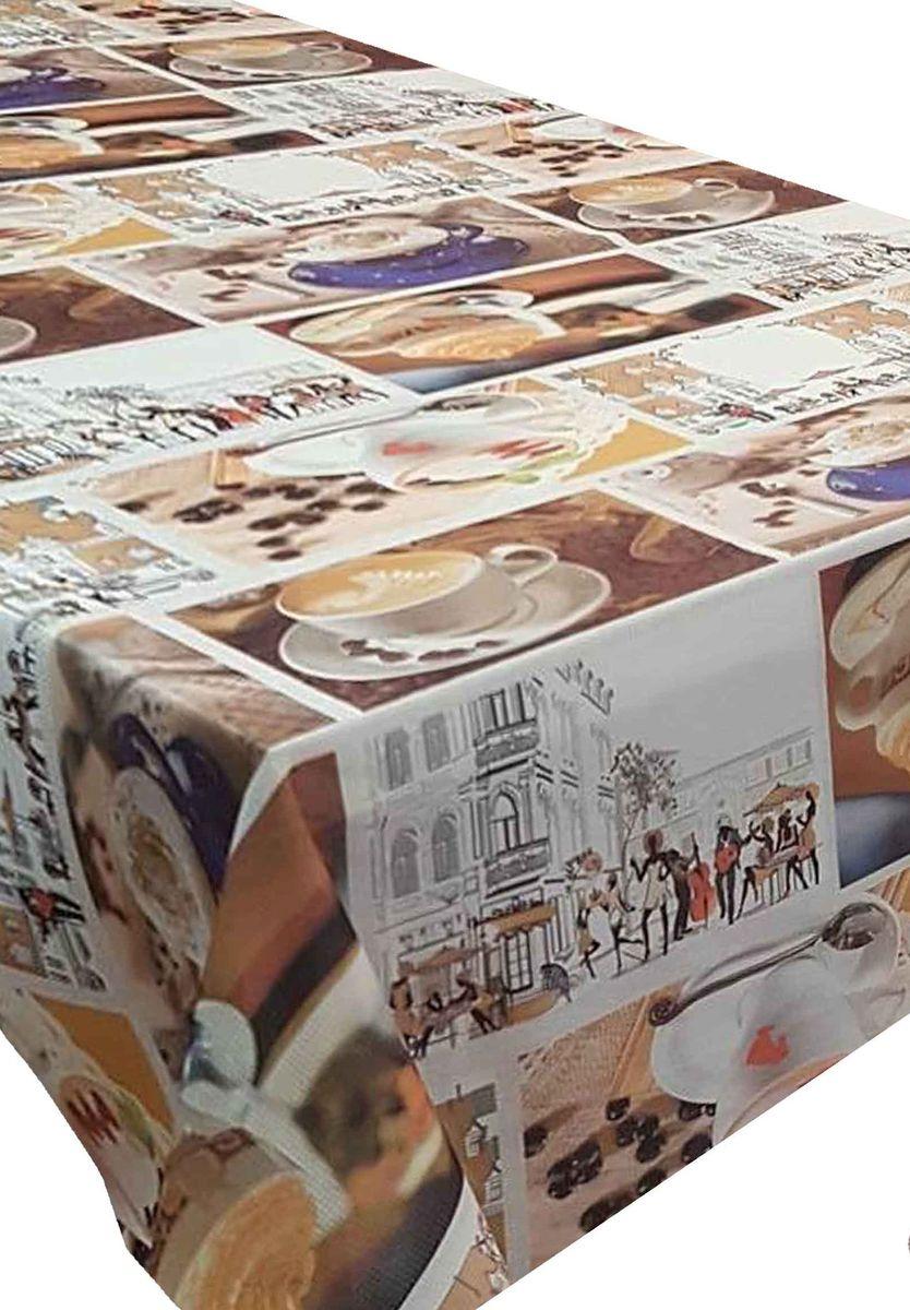 Скатерть Ambesonne Уличное кафе, квадратная, 150 x 150 смBD1544_AКрасочная фотоскатерть Ambesonne Уличное кафе выполнена из тканевого полиэстера и украшена оригинальным рисунком. Изделие создаст атмосферу уюта и домашнего тепла в интерьере вашей кухни. В современном мире кухня - это не просто помещение для приготовления и приема пищи. Это особое место, где собирается вся семья и царит душевная атмосфера.