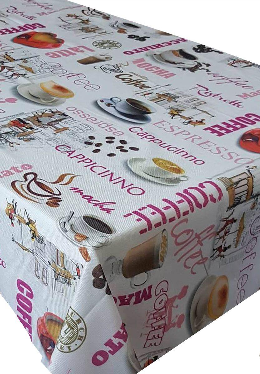 Скатерть Ambesonne Чашка кофе, прямоугольная, 110 x 150 смBM1531CAFELANDFUSYA_AВеликолепная скатерть Ambesonne, выполненная из полиэстера, создаст атмосферу уюта и домашнего тепла в интерьере вашей кухни. В современном мире кухня - это не просто помещение для приготовления и приема пищи. Это особое место, где собирается вся семья и царит душевная атмосфера.