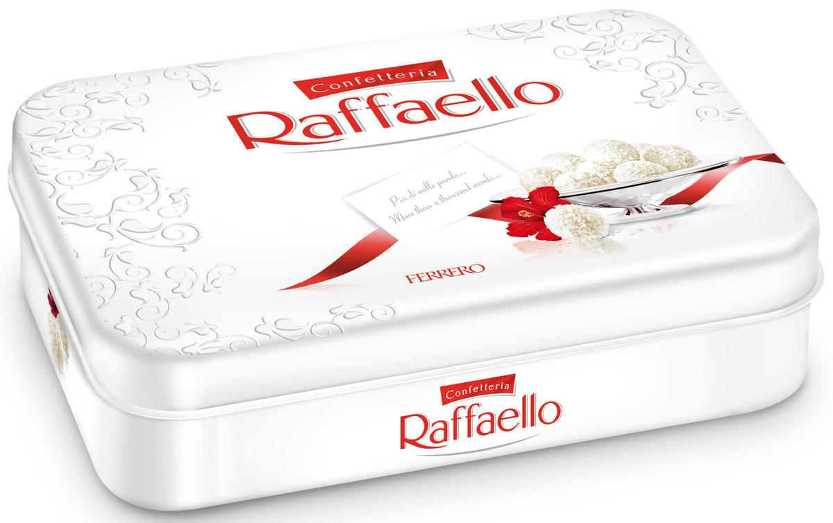Raffaello конфеты с цельным миндальным орехом в кокосовой обсыпке, 300 г77115552/77098328/77071190Конфеты Раффаэлло с цельным миндальным орехом в кокосовой обсыпке.