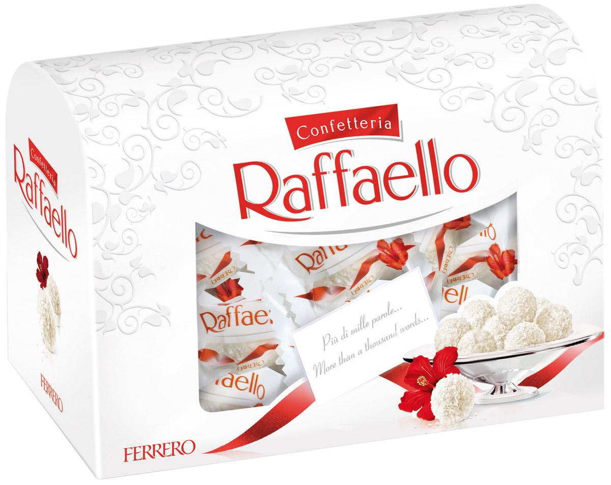 Raffaello конфеты с цельным миндальным орехом в кокосовой обсыпке 240 г