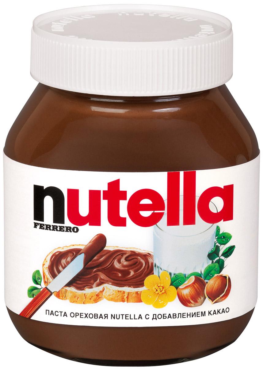 Nutella паста ореховая с добавлением какао, 630 г