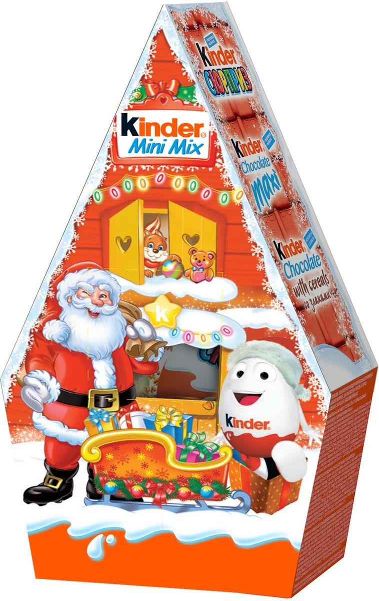 Kinder Mini Mix набор: Kinder Surprise, Kinder Chocolate со злаками, Kinder Chocolate Maxi, 106 г