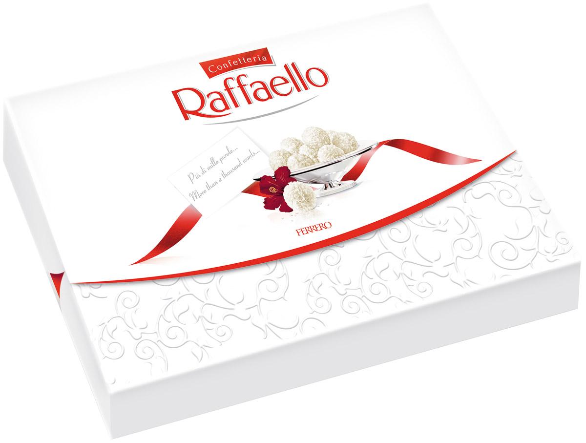 Raffaello конфеты с цельным миндальным орехом в кокосовой обсыпке, 90г