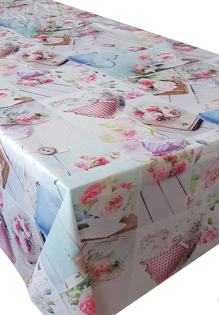 Скатерть Ambesonne Романтичные розы, прямоугольная, 110 x 150 смBM1502GARDEN_AВеликолепная скатерть Ambesonne, выполненная из полиэстера, создаст атмосферу уюта и домашнего тепла в интерьере вашей кухни. В современном мире кухня - это не просто помещение для приготовления и приема пищи. Это особое место, где собирается вся семья и царит душевная атмосфера.