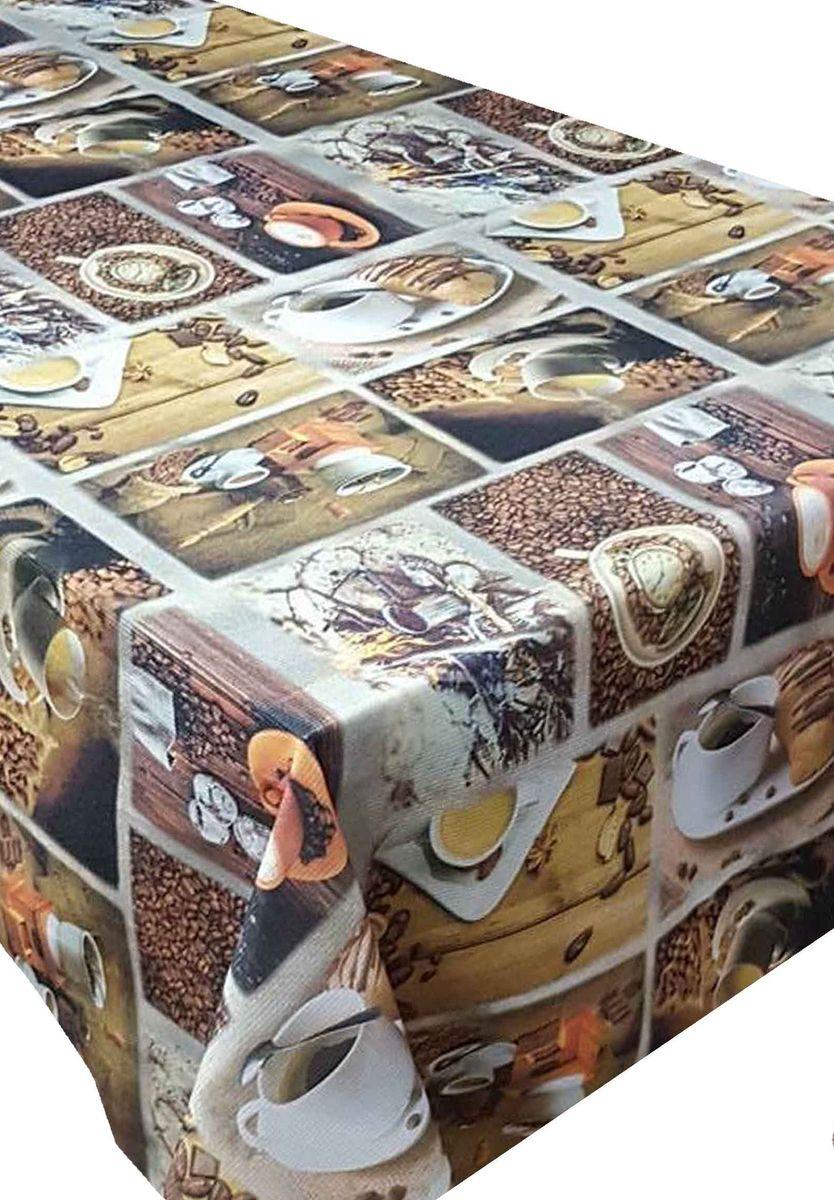 Скатерть Ambesonne Кофе с круассанами, прямоугольная, 110 x 150 смBD1859_AВеликолепная скатерть Ambesonne, выполненная из полиэстера, создаст атмосферу уюта и домашнего тепла в интерьере вашей кухни. В современном мире кухня - это не просто помещение для приготовления и приема пищи. Это особое место, где собирается вся семья и царит душевная атмосфера.
