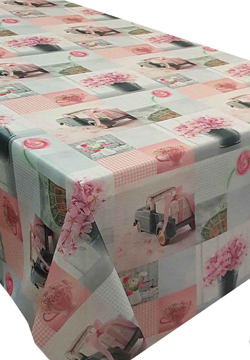 Скатерть Ambesonne Игрушечные машинки и розовые цветы, квадратная, 150 x 150 смBD1363_AВеликолепная скатерть Ambesonne, выполненная из полиэстера, создаст атмосферу уюта и домашнего тепла в интерьере вашей кухни. В современном мире кухня - это не просто помещение для приготовления и приема пищи. Это особое место, где собирается вся семья и царит душевная атмосфера.