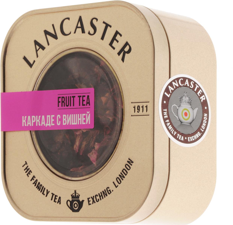 Lancaster Каркаде с вишней чайный напиток, 75 г13 9936Тонизирующий купаж Lancaster Каркаде с вишней на основе цветов гибискуса с добавлением кусочков яблок, вишни, шиповника и лепестков роз делает вкус чая каркаде еще более насыщенным, а аромат после заваривания поистине чудесным. Уважаемые клиенты! Обращаем ваше внимание на то, что упаковка может иметь несколько видов дизайна. Поставка осуществляется в зависимости от наличия на складе.