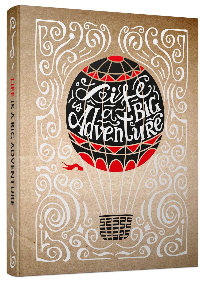 Попурри Записная книжка Life Is a Big Adventure 80 листов в клетку/линейку4810764000347Записные книжки