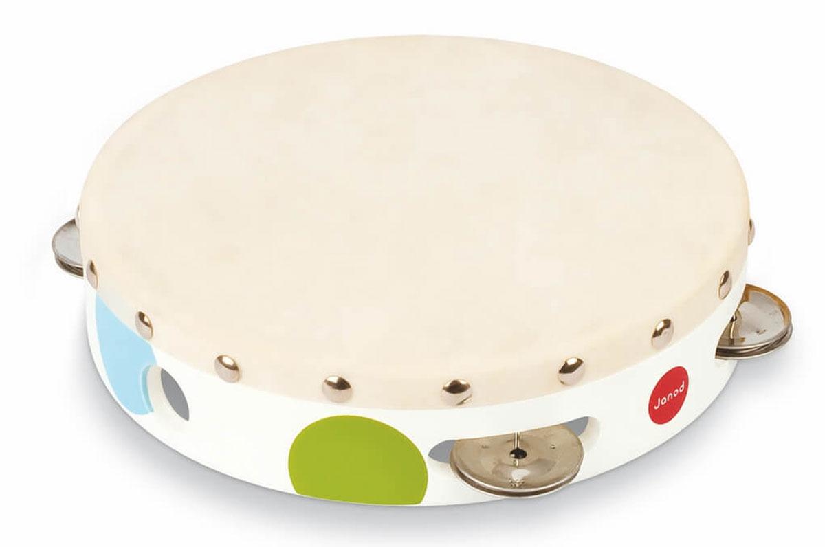 Janod Бубен КонфеттиJ07601Бубен Janod Конфетти доставит огромное удовольствие вашему ребенку и вдохновит его к занятию музыкой. Музыкальный инструмент выполнен в оригинальном дизайне: поверхность бубна деревянная, а по бокам ободка имеются прорези со вставленными в них металлическими пластинами. Играть на бубне можно двумя способами: встряхивая его или ударяя об его поверхность. Игра с бубном способствует развитию звуковосприятия, чувства ритма и музыкальных способностей у ребенка.