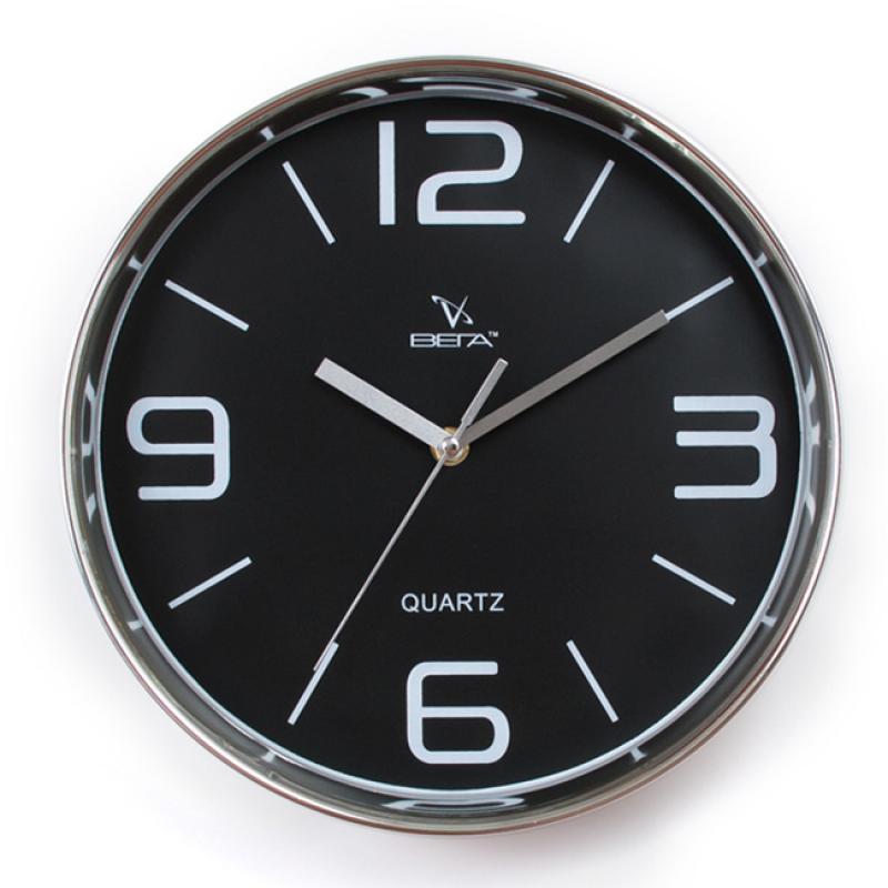 Часы настенные Вега Черная классикаН0257