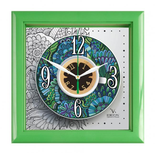 Часы настенные Вега Чайная параП3-3-122