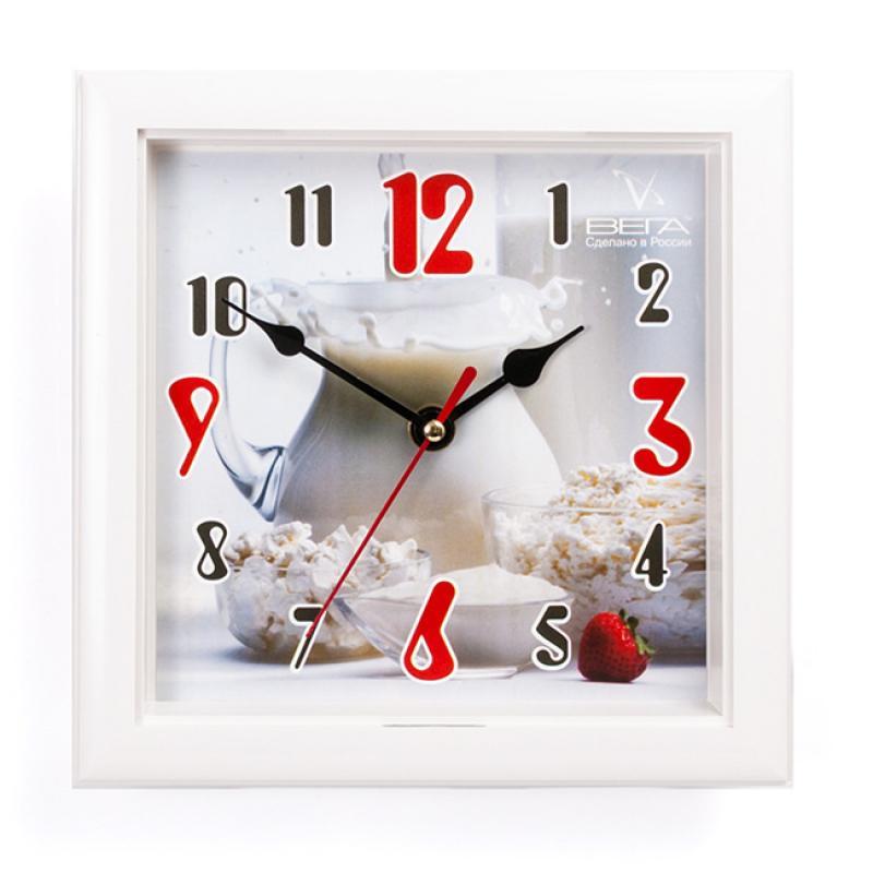 Часы настенные Вега Кувшин с молокомП3-7-109