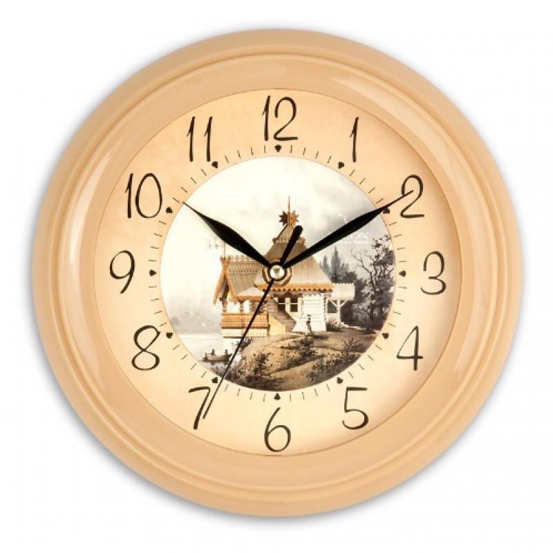Часы настенные Вега Домик в деревнеП6-14-9