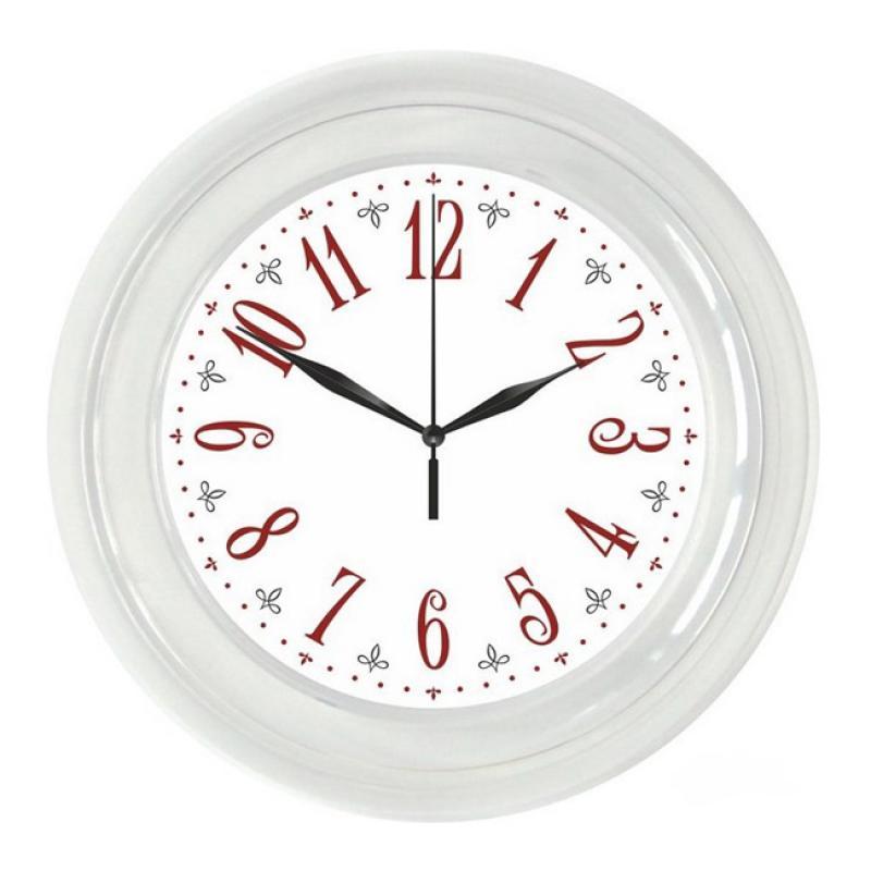 """Часы настенные Вега """"Классика"""", цвет: белый. П6-7-21"""