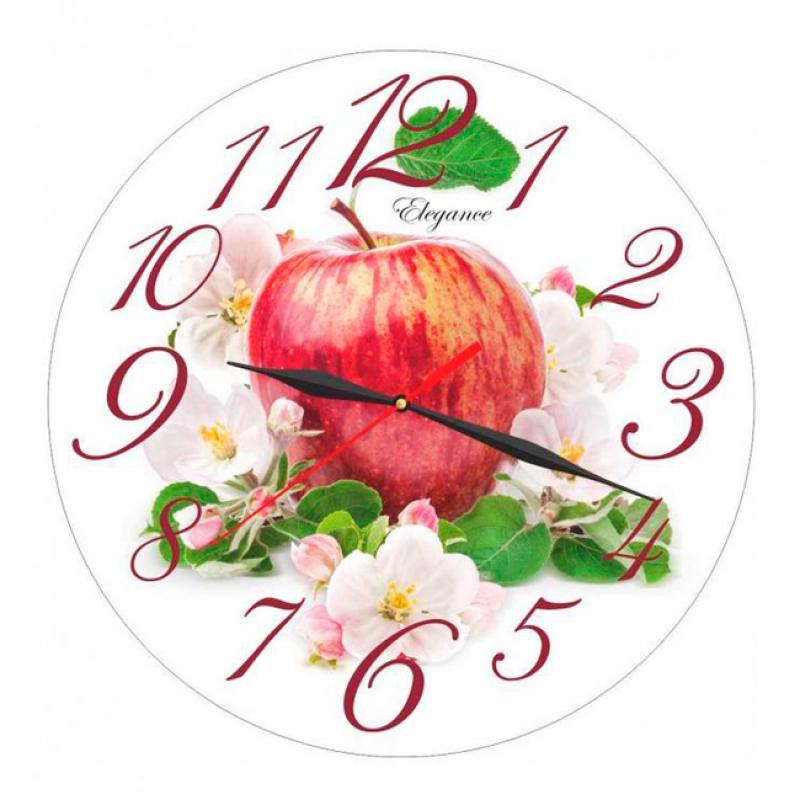 Часы настенные Вега ЯблокоСО1-1