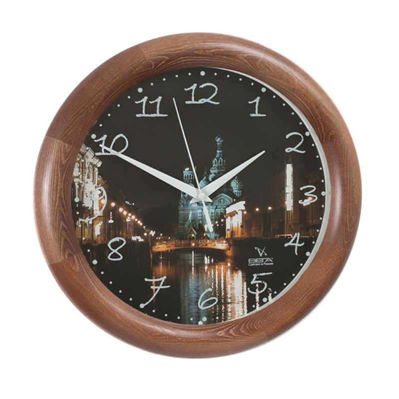 Часы настенные Вега Храм Воскресения ХристоваД1МД/7-129