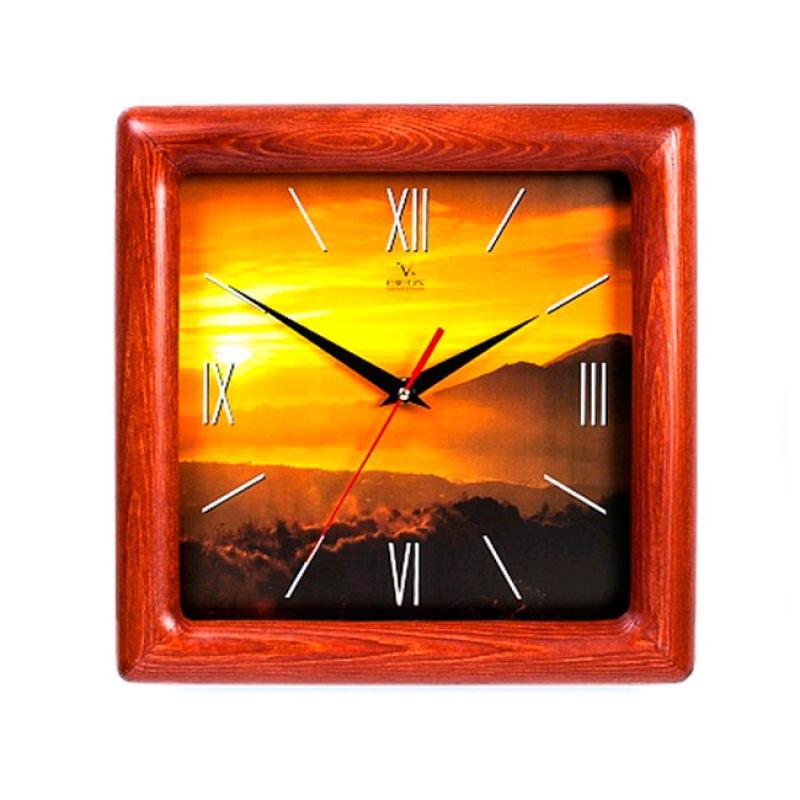 Часы настенные Вега Закат в горахД4КД/6-76
