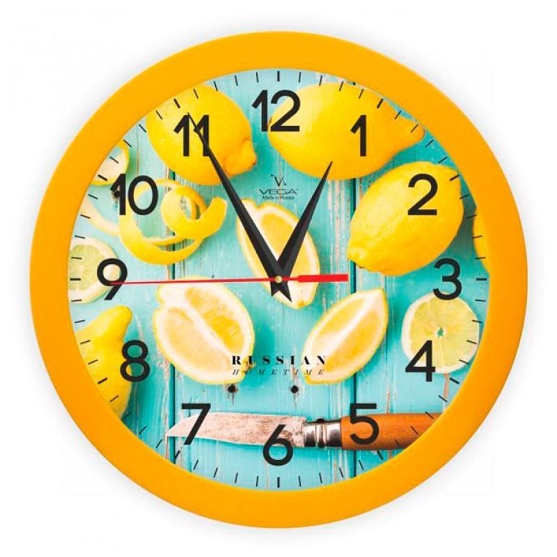 Часы настенные Вега ЛимоныП1-2/7-260