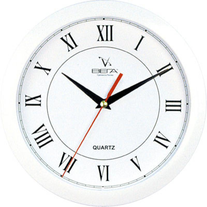 Часы настенные Вега Римская классика, цвет: белыйП1-7/7-47