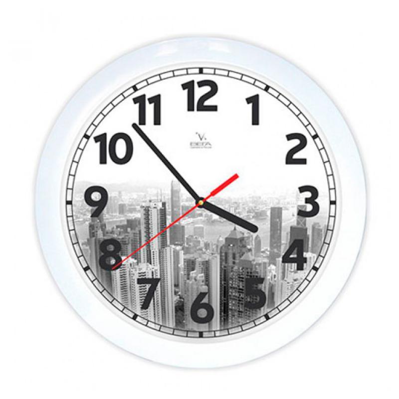 Часы настенные Вега ГородП1-7/7-214