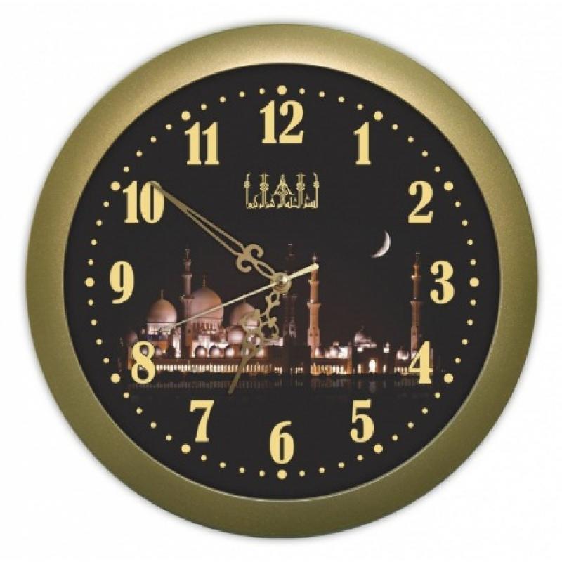 Часы настенные Вега Ночная мечетьП1-8/6-208
