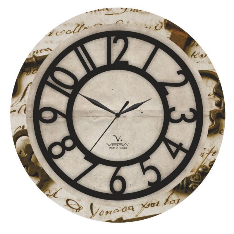 Часы настенные Вега ПисьмоП1-242/6-242