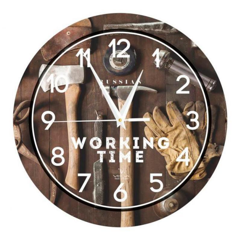 Часы настенные Вега МастерскаяП1-293/7-293