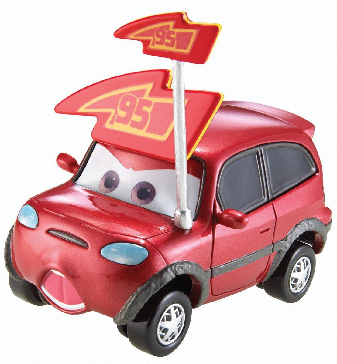 Cars Машинка Timothy TwostrokeW1938_DLY78Машинка Cars Timothy Twostroke станет отличным подарком для ребенка в возрасте от 3 лет. Модель выполнена в виде гоночного автомобиля из мультфильма Тачки. Машина вызовет массу восторга у поклонников диснеевского мультфильма об автомобильном мире. Изделие изготовлено из металла с пластиковыми элементами.