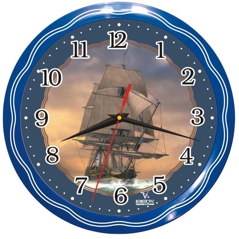 Часы настенные Вега ФрегатП1-1074/7-13