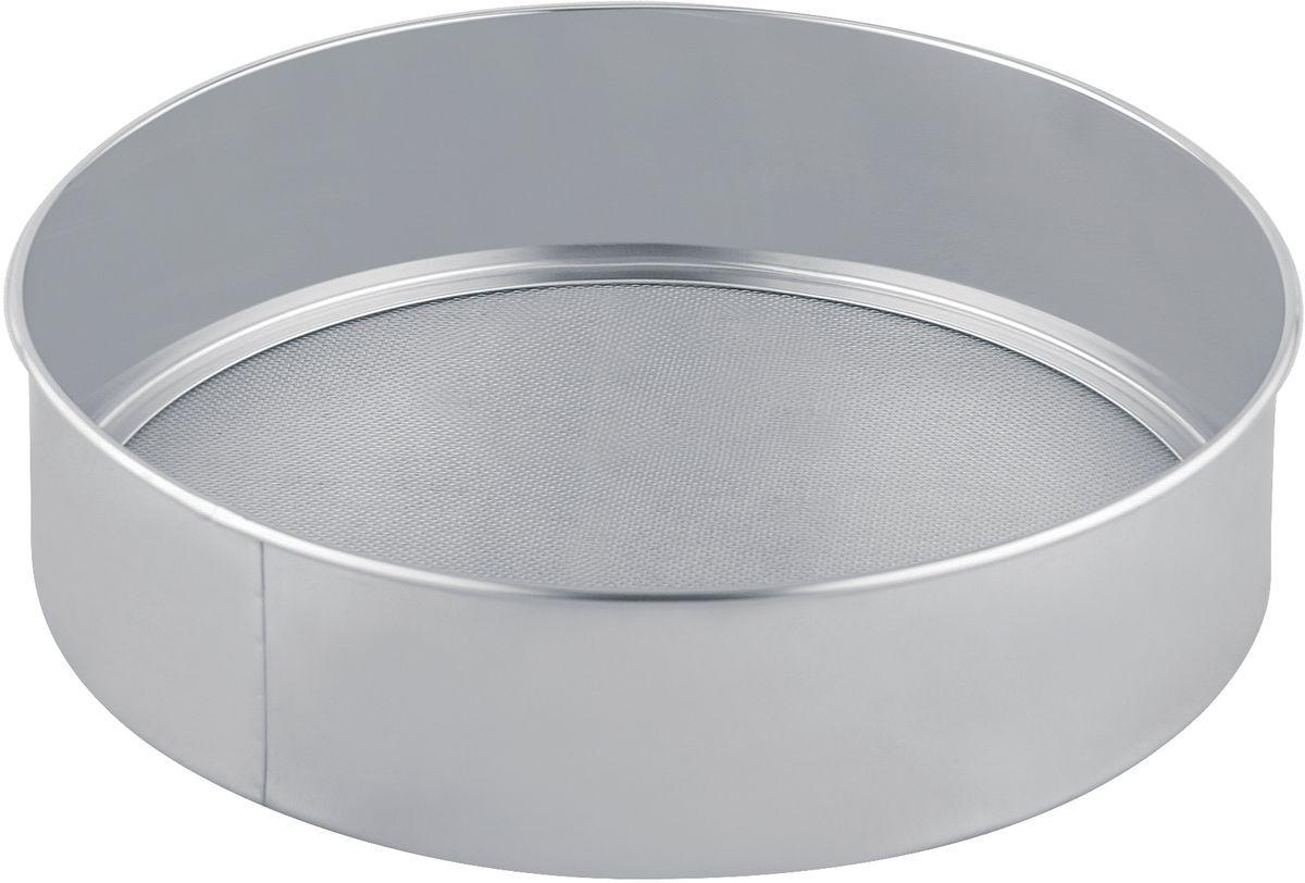 Сито для муки Bekker, диаметр 27,5 смBK-9209Сито для муки Bekker, выполненное из высококачественной нержавеющей стали, станет незаменимым аксессуаром на вашей кухне. Сито оснащено удобными бортиками. Прочная стальная сетка и корпус обеспечивают изделию износостойкость и долговечность. Такое сито станет достойным дополнением к кухонному инвентарю. Диаметр: 27,5 см. Высота: 7 см.