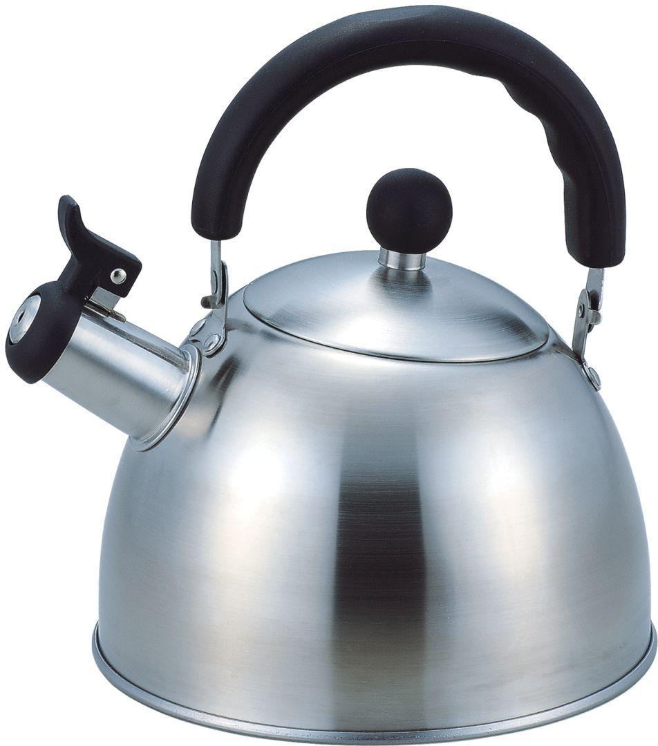 Чайник Bekker, 3 л. BK-S311MBK-S311M2.8L , со свистком, ручка подвижная черного цвета, крышка мет. Подходит для всех типов плит.
