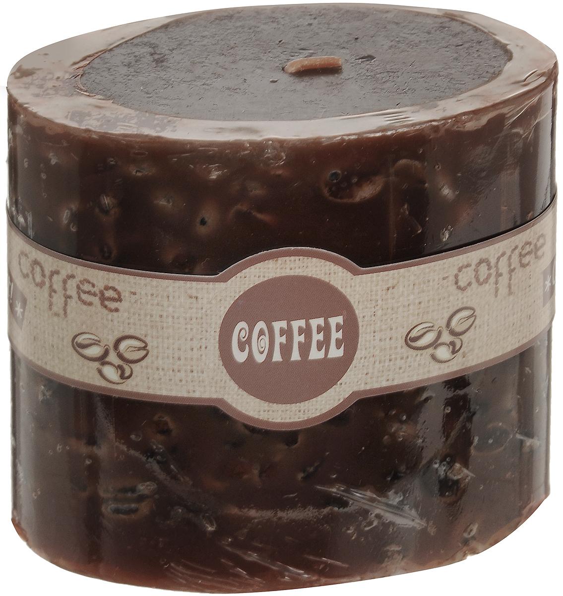 Свеча декоративная Lovemark Кофе, ароматизированная, цвет: коричневый, 9 х 5,5 х 8 см08GS1504-COДекоративная свеча Lovemark Кофе изготовлена из высококачественного парафина. Изделие отличается оригинальным дизайном и приятным ароматом кофе. Такая свеча может стать отличным подарком или дополнить интерьер вашей комнаты.