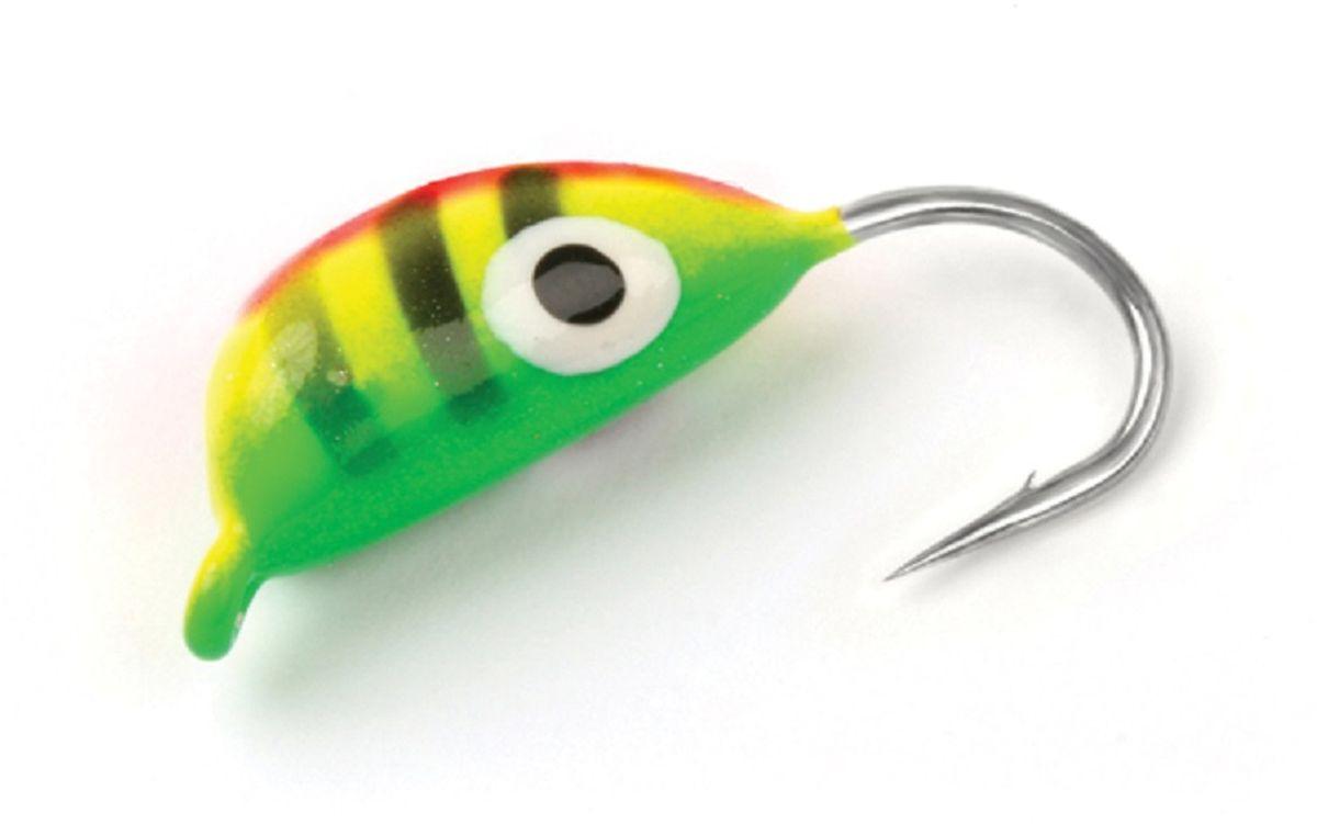 Мормышка вольфрамовая Asseri Рижский банан, цвет: зеленый, желтый, черный, 1,4 г, 5 штВ6-ZELМормышка Asseri Рижский банан изготовлена из вольфрама и оснащена крючком. Она небольшого размера, окрашена так, чтобы издалека привлечь рыбу. Главное достоинство вольфрамовой мормышки - большой вес при малом объеме. Эта особенность дает большие преимущества при ловле, так как позволяет быстро погрузить приманку на требуемую глубину и лучше чувствовать игру мормышки. Размер: 4 х 9,5 мм.