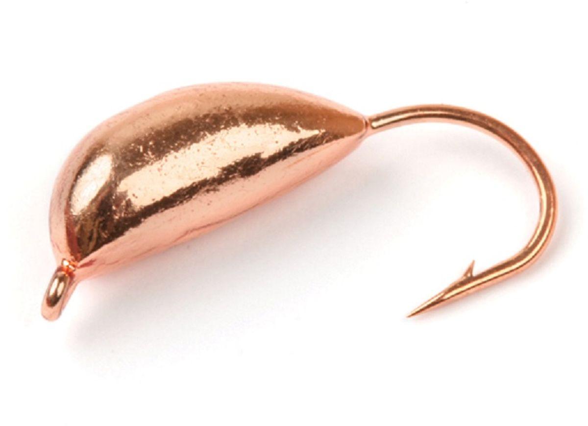Мормышка вольфрамовая Asseri Супер, рижский банан, цвет: медный, 3 г, 5 штВ9-Cu+Мормышка Asseri Супер изготовлена из вольфрама и оснащена крючком. Она небольшого размера, имеет форму банана окрашена так, чтобы издалека привлечь рыбу. Главное достоинство вольфрамовой мормышки - большой вес при малом объеме. Эта особенность дает большие преимущества при ловле, так как позволяет быстро погрузить приманку на требуемую глубину и лучше чувствовать игру мормышки. Размер: 5,2 х 13 мм.