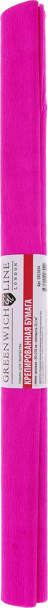 Greenwich Line Бумага крепированная цвет темно-розовый 50 х 250 см CR25034