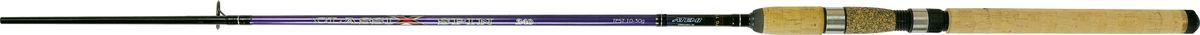Cпиннинг штекерный Atemi Classix Spin, с пробковой ручкой, 2,1 м, 10-30 г205-08210Штекерное удилище с пробковой ручкой Atemi Classix Spin порадует даже опытного рыболова. Спиннинг отлично подойдет для ловли некрупной рыбы - форели, окуня. Удилище выполнено из прочного, ударостойкого стеклопластика. Оно способно долго находиться под сильной нагрузкой и не ломаться. В тоже время спиннинг довольно тяжел. Пробковая ручка будет в любое время года теплой и приятно ложится в руке, не скользит. Спиннинг отлично сбалансирован. Облегченные кольца изготовлены из высококачественного материала и изнутри покрыты керамикой, что дает возможность использовать плетеные лески. Классический винтовой катушкодержатель подходит для большинства типов катушек. Вес: 180 г. Длина: 2,1 м. Секций: 2. Тест: 10-30 г. Длина при транспортировке: 95 см.