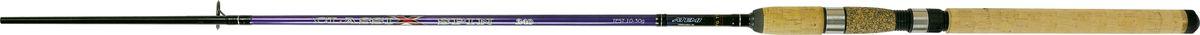 Cпиннинг штекерный Atemi Classix Spin, с пробковой ручкой, 3 м, 30-60 г205-08300Штекерное удилище с пробковой ручкой Atemi Classix Spin порадует даже опытного рыболова. Спиннинг отлично подойдет для ловли некрупной рыбы - форели, окуня. Удилище выполнено из прочного, ударостойкого стеклопластика. Оно способно долго находиться под сильной нагрузкой и не ломаться. В тоже время спиннинг довольно тяжел. Пробковая ручка будет в любое время года теплой и приятно ложится в руке, не скользит. Спиннинг отлично сбалансирован. Облегченные кольца изготовлены из высококачественного материала и изнутри покрыты керамикой, что дает возможность использовать плетеные лески. Классический винтовой катушкодержатель подходит для большинства типов катушек. Вес: 180 г. Длина: 3 м. Секций: 2. Тест: 30-60 г. Длина при транспортировке: 95 см.
