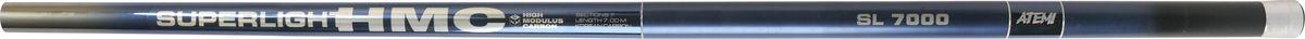 Удилище телескопическое Atemi SUPERLIGHT HMC, без колец, 8 м205-22800Телескопическое удилище ATEMI SUPERLIGHT HMC 8m Удилище без колец! Хорошая удочка для начинающих рыболовов, обеспечивающая соотношение цены и качества. Серия телескопических удилищ SUPERLIGHT HMC предназначена как для начинающих, так и для опытных рыболовов-поплавочников. Прекрасный строй легких удилищ позволяет рыболову получить удовольствие от рыбалки и выполнить своевременную подсечку при ловле некрупной рыбы. артикул 205-22800 длина 8 м трансп. длина 1,31 м тест 2-10 г секции 8 Кор. 1шт x25