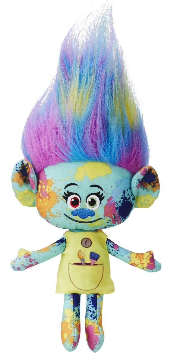 Trolls Мягкая игрушка Харпер 30 смB6566EU4_B7618Мягкая игрушка Trolls Харпер в симпатичном платьице с длинными разноцветными волосами - персонаж веселого мультфильма Тролли. Игрушка - замечательная копия улыбчивой героини с добрыми распахнутыми глазами и озорной улыбкой. Ее яркие густые волосы можно расчесывать и укладывать в пышную прическу. Изготовлена игрушка из качественных и безопасных материалов. Выберите любимого персонажа или соберите всех забавных троллей из коллекции, и пусть они вдохновят ребенка на увлекательные игры и приключения!