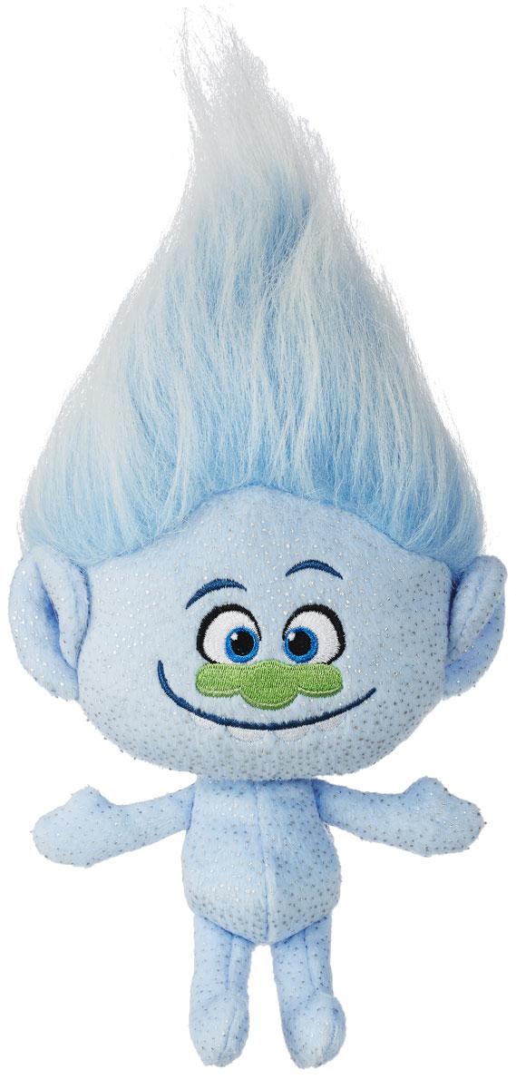 Trolls Мягкая игрушка Алмаз 30 смB6566EU4_В7616Мультфильм Тролли покорил сердца огромного количества детей по всему миру. И вы можете подарить своему малышу одного из персонажей полюбившегося мультика. Алмаз - еще один житель деревни троллей, голый тролль в блестках, который пропагандирует идею личного пространства и обладает непоколебимой уверенностью в неотразимости собственного тела. Ходячий праздник. Озорную мордочку украшает широкая заразительная улыбка, а стоящие дыбом волосы так и манят расчесать и уложить их. Мягкая игрушка Trolls Алмаз изготовлена из качественных и безопасных материалов. Выберите любимого персонажа или соберите всех забавных троллей из коллекции, и пусть они вдохновят ребенка на увлекательные игры и приключения!