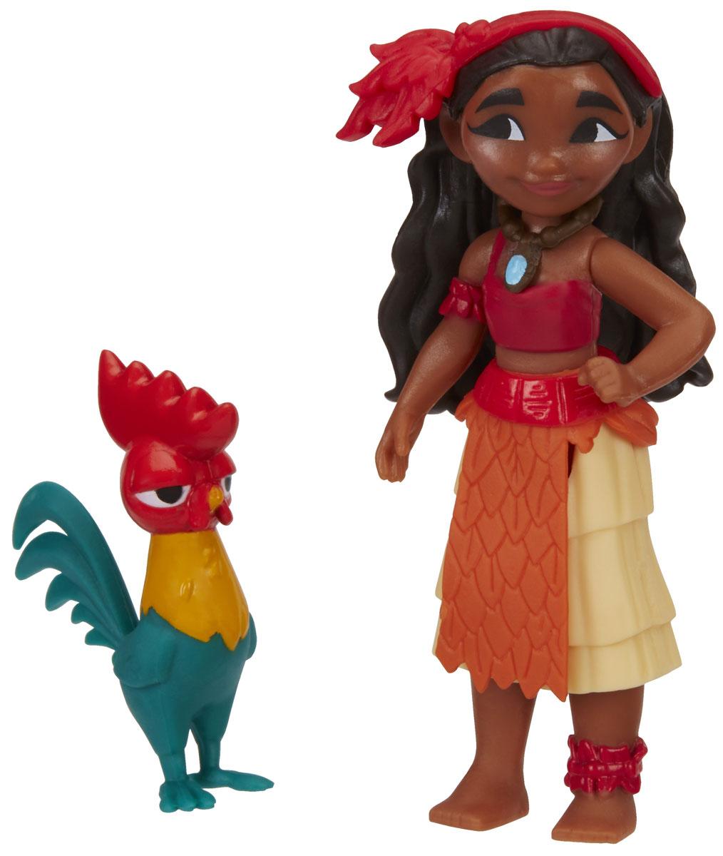 Disney Moana Набор фигурок Моана и Хей-ХейB8298EU4_В9174Набор фигурок Disney Moana включает в себя Моану и петуха Хей-Хей. Фигурки выполнены из высококачественного и безопасного для ребенка материала. Моана - главная героиня мультфильма, 14-летняя дочь вождя, любит океан и все, что с ним связано, храбрая и отважная. Хей-Хей - глупый до смешного петух со смотрящими в разные стороны глазами. Моана - мультфильм от создателей всемирно известного анимационного мультфильма Холодное сердце, премьера которого ожидается 1 декабря 2016 года. С фигурками по мотивам этого мультфильма ребенок сможет затеять увлекательную сюжетно-ролевую игру, или придумывать собственные, уникальные истории.