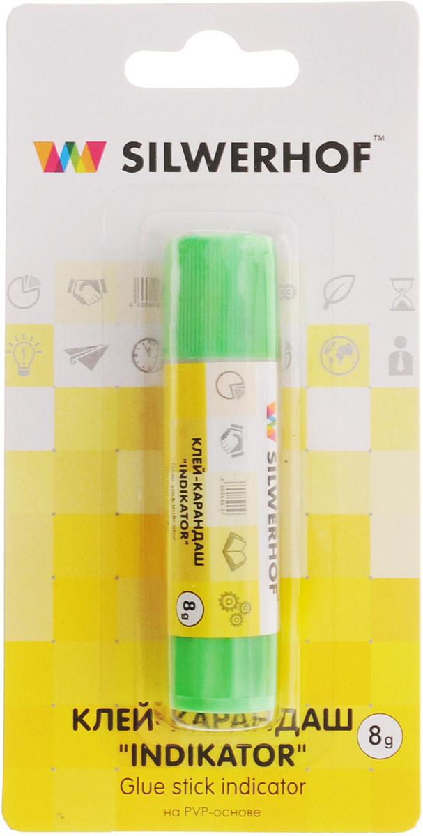 Silwerhof Клей-карандаш Indikator 8 г431208Клей-карандаш Silwerhof Indikator на PVP-основе идеально подходит для склеивания бумаги, картона и фотографий. Цветной ингредиент позволяет точно определить нанесение слоя в месте склеивания. После высыхания клея цветной компонент исчезает. Клей-карандаш экологически безопасен, быстро сохнет и не оставляет следов после высыхания. Вес клея: 8 грамм.